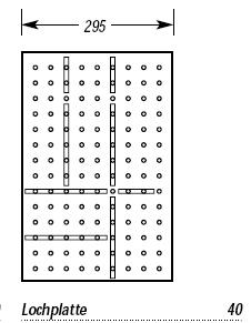 holz besteckeinsatz system belli box grundplatte f r 40 cm breiten schrank ebay. Black Bedroom Furniture Sets. Home Design Ideas
